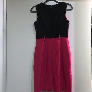 Calvin Klein Dresses - Calvin Klein Fuchsia Sleeveless Dress, Size 2